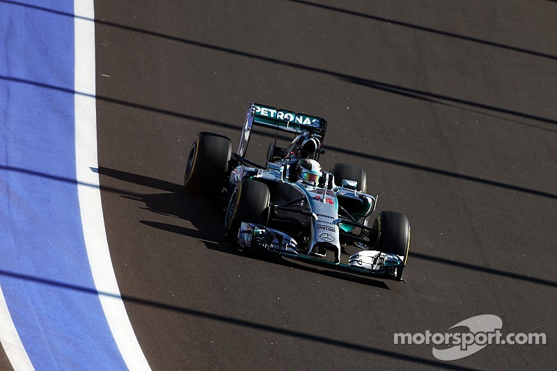 The Russian GP weekend began with Hamilton at the top of the timesheets