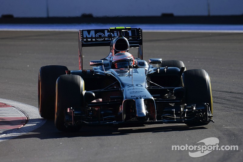 22 World Championship points for McLaren in Russia