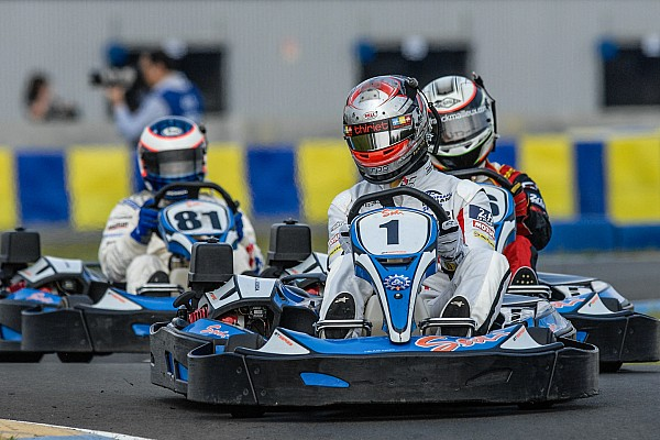 NASCAR's newest series: Indoor kart racing?