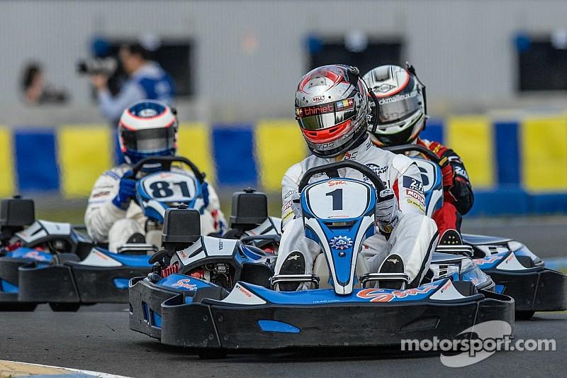 NASCAR's newest series: Indoor kart racing?