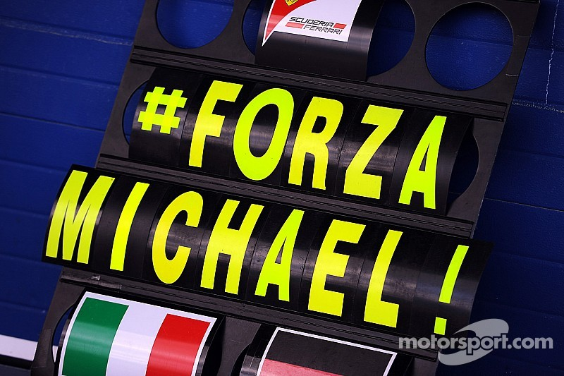 Schumacher making 'progress' at home - doctor