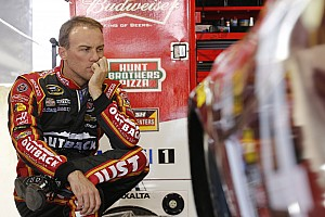 NASCAR Sprint Cup Race report Harvick vows to exact revenge on Kenseth