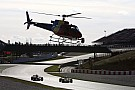 Video: Using helicopters to remove stricken F1 cars?