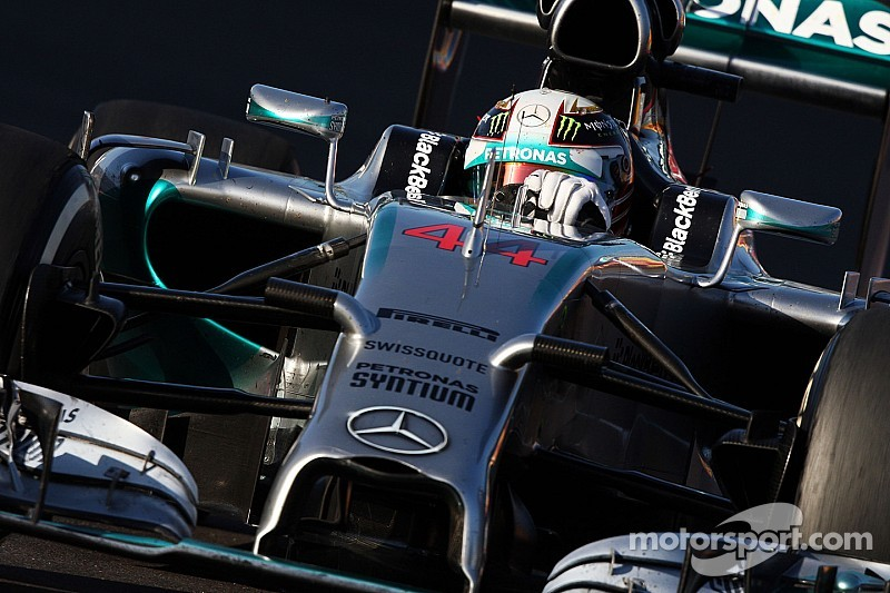 United States GP practice 1 results: Hamilton leads Rosberg