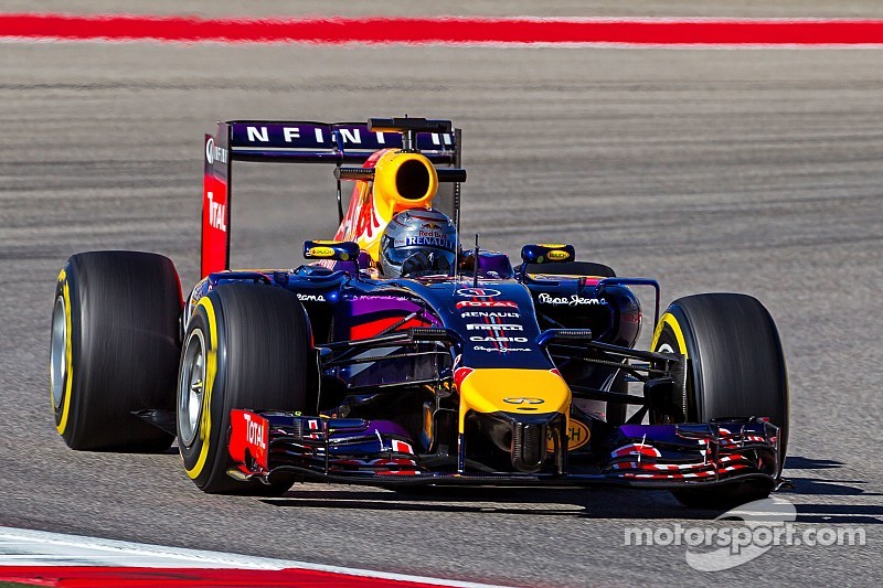 Red Bull's Ricciardo is top five on qualifying for the United States GP