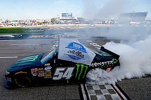 NASCAR XFINITY Race report Busch gets one step closer to weekend sweep with Nationwide win