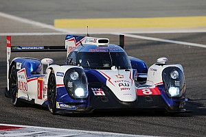 WEC Practice report Busy start for Toyota Racing in Bahrain
