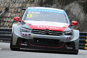 Sébastien Loeb Racing in 2015 WTCC with two Citroën C-Elysée