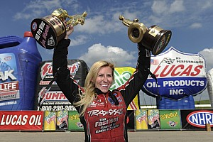 NHRA Interview Seven questions for NHRA driver Courtney Force