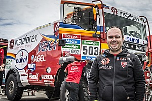 Dakar Preview InstaForex Loprais Team are going for the first stage!