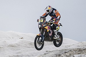 Dakar Stage report Sunderland takes line honours for KTM in Stage 1