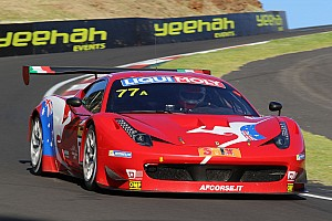 Endurance Race report AF Corse Ferrari leads Bathurst after three hours