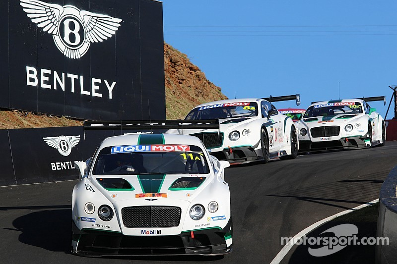 Bentley team HTP signs young talent and experienced professionals