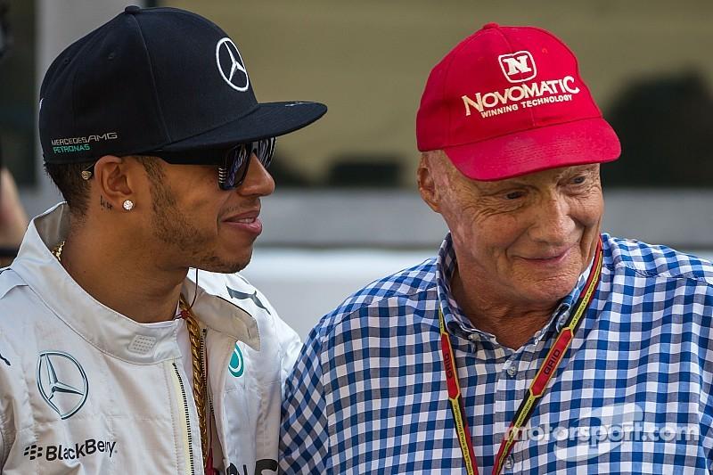 Lewis Hamilton renovará con Mercedes, según Niki Lauda