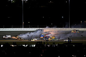 NASCAR Truck Race report Dirty Dozen: 12 truckers wiped out in Daytona wreck