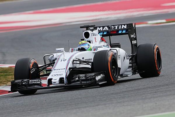 Massa puts Williams on top on first day