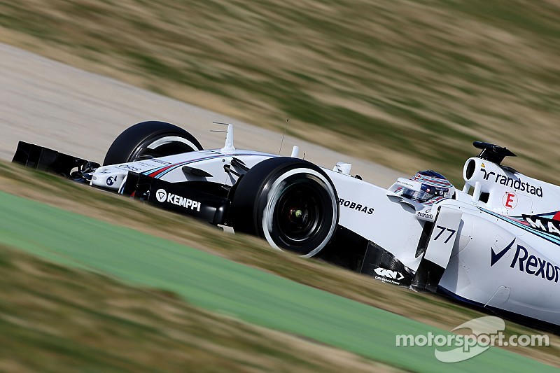 Bottas 'surprised' by Mercedes pace