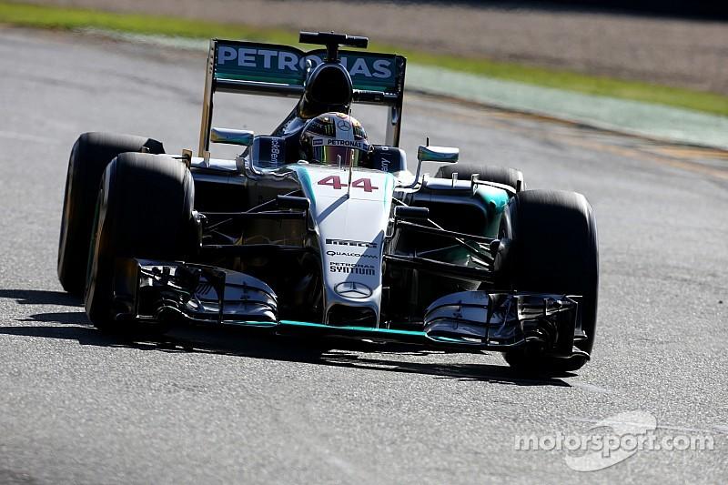 Hamilton, el más veloz en la FP3