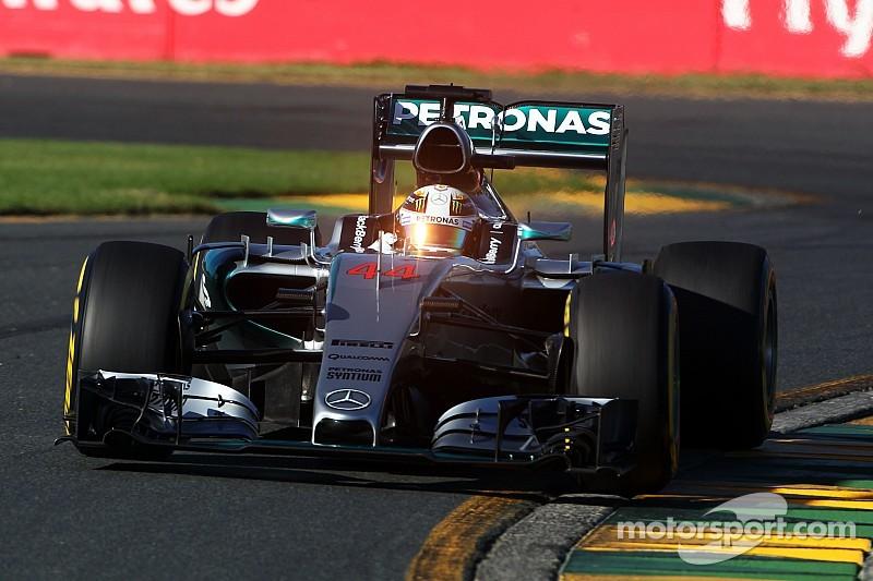 Australian GP qualifying results: Hamilton clinches pole