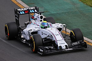 Massa qualified third and Bottas sixth for tomorrow's Australian GP