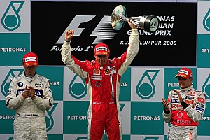 Formula 1 Special feature Malaysian GP: 10 previous winners of the race