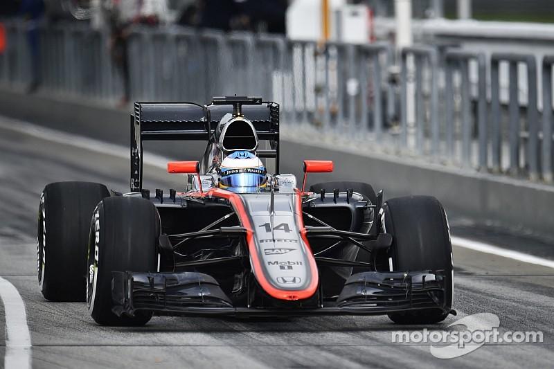 No more than Q1 for McLaren at Sepang