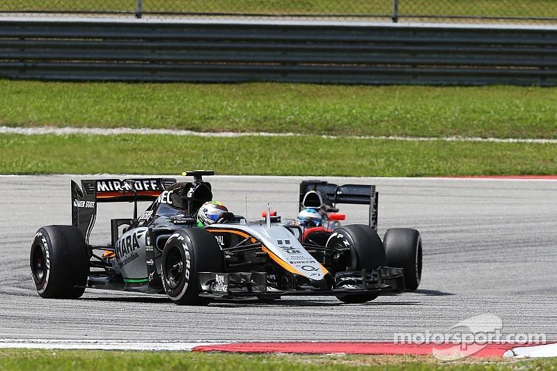 Sahara Force India battled hard in the Malaysian GP