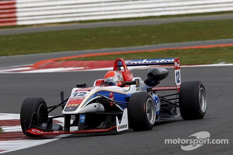 Competitivo debut de Pietro en la F3