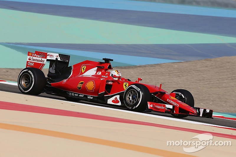Ferrari has the third and fourth best times on Friday practice for the Bahrain GP