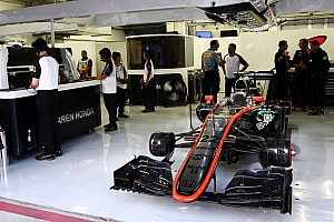 McLaren says new structure making development faster