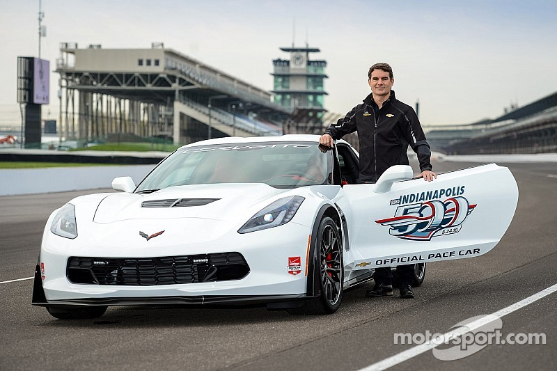 Jeff Gordon manejará el pace car de Indy 500