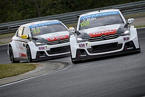 WTCC Qualifying report Muller leads Valente after qualifying in Hungary