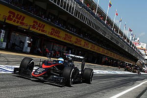Formula 1 Qualifying report Both McLaren cars gets into Q2 for the first time this year
