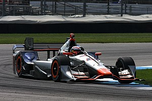 IndyCar Practice report Coletti paces GP of Indy warmup