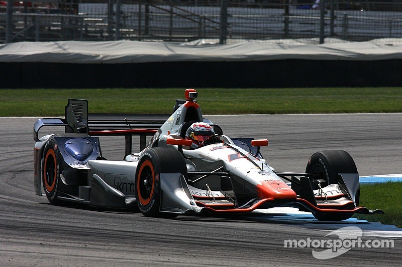 Coletti paces GP of Indy warmup