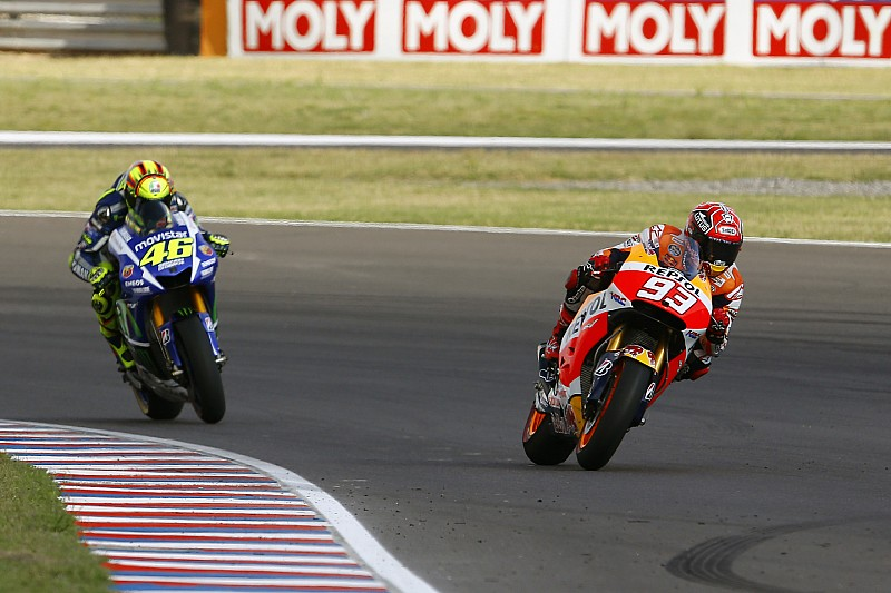 Marquez cannot be counted out, says Rossi