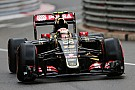 Pirelli: Lotus' Maldonado is the only competitor to run on the new 2015 supersoft tyre