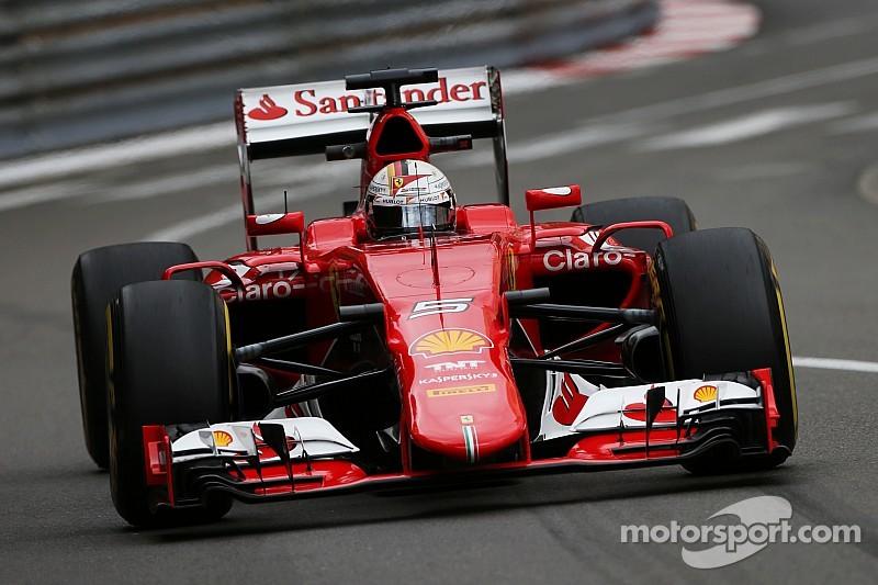 Monaco GP: Vettel beats Mercedes in final practice