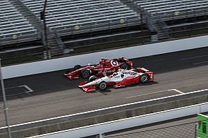IndyCar Race report Penske and Ganassi control Indy 500 at halfway point