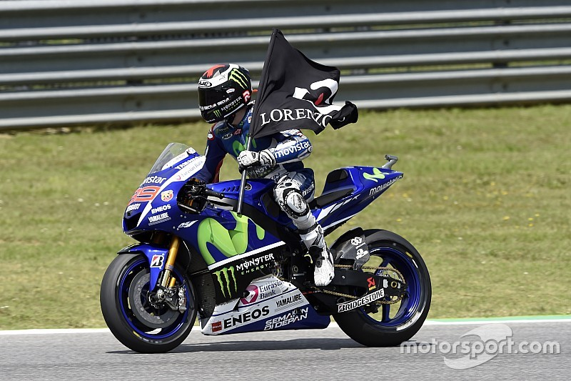 """Lorenzo has been """"too fast"""", admits Rossi"""
