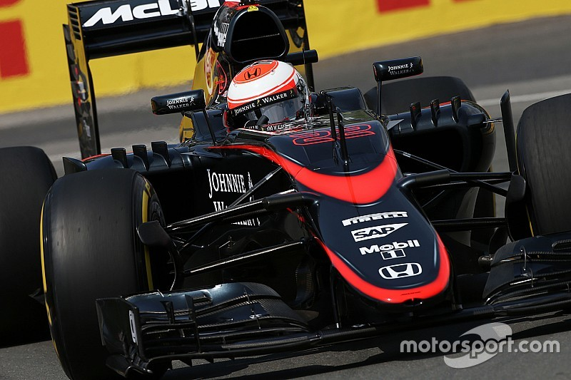 McLaren confirma que el motor de Button tendrá partes nuevas