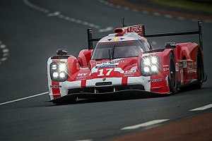 Le Mans Race report Porsche leads Audi after three hours at Le Mans