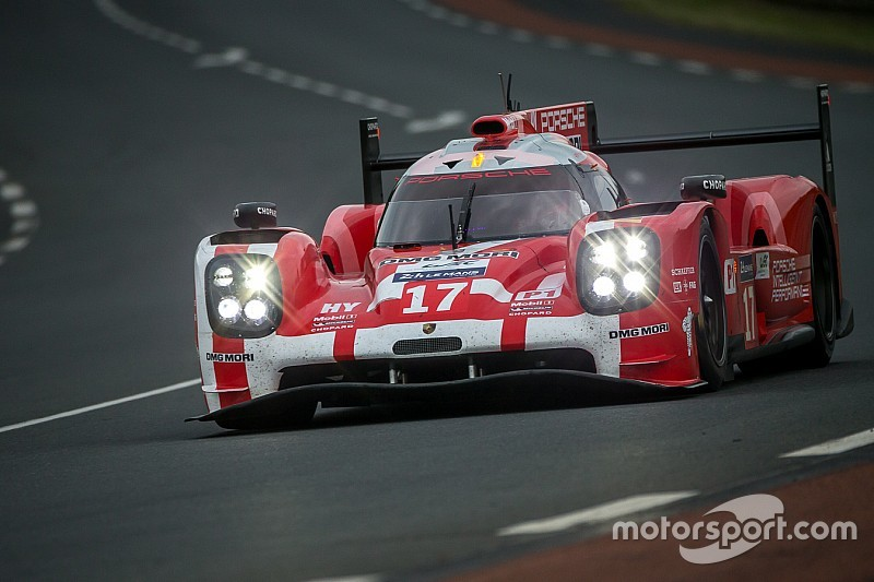 Porsche leads Audi after three hours at Le Mans