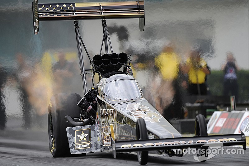 Johnson, Schumacher and McGaha top qualifying at New England