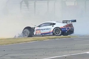 Huge Aston Martin accident triggers fourth Safety Car