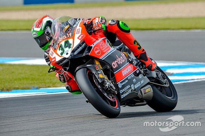 Biaggi ends opening day on top as Misano times tumble