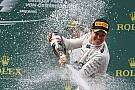 Austrian GP: Rosberg beats Hamilton to fifth Mercedes 1-2