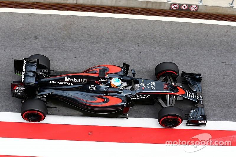 Alonso, satisfecho con las prácticas en Austria