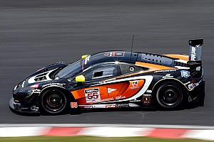 GT Race report McLaren claim victory after dramatic opening day in Okayama