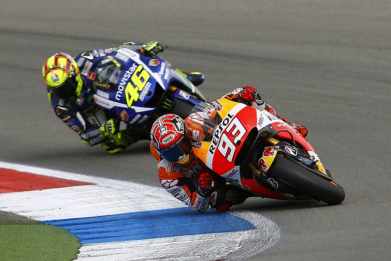 Rossi still wary of Marquez title threat